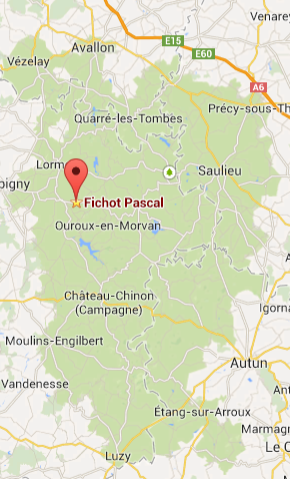 google map pascal fichot